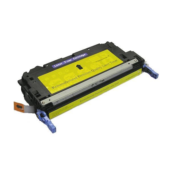 HP-compatible Q6472A Premium Yellow Laser Toner Cartridge