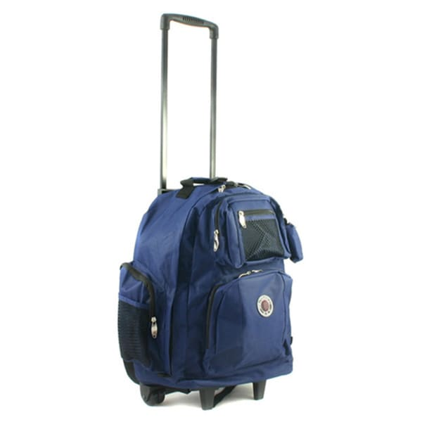 Roll-Away 18-inch Deluxe Rolling Unisex Polyester Carry-on ...