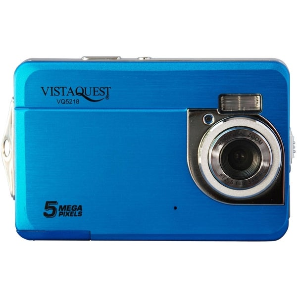 VistaQuest VQ5218 5 Megapixel Compact Camera - Blue