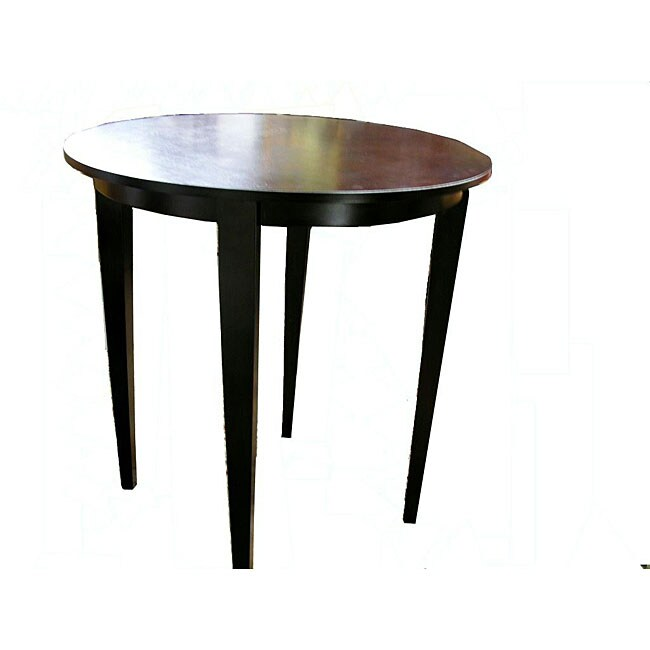 Warehouse of Tiffany Brown Round Bar Table