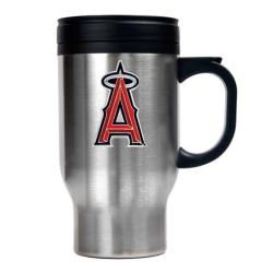 Los Angeles Angels 16-oz Stainless Steel Travel Mug - Thumbnail 1