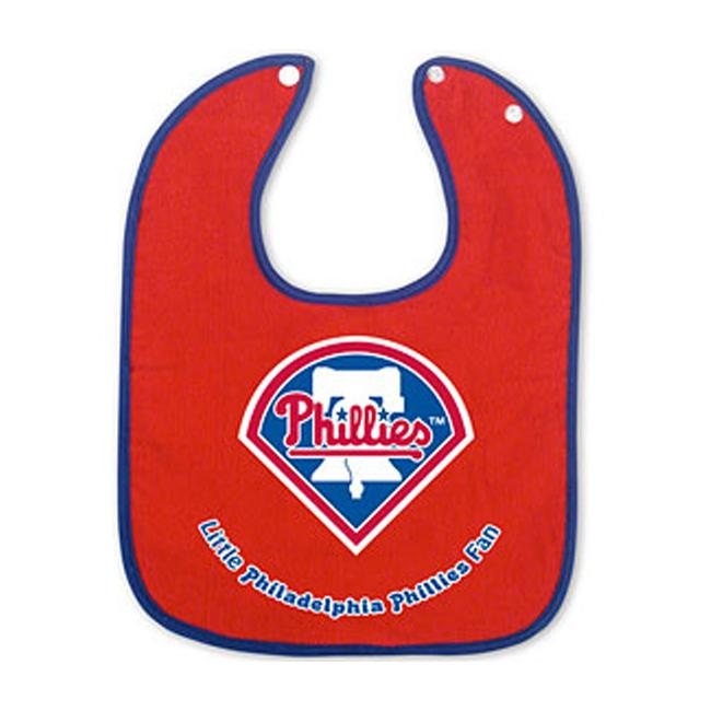 Philadelphia Phillies Red Lil Fan Baby Bib - Thumbnail 0