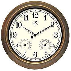 The Craftsman Thermometer/ Hygrometer Indoor/ Outdoor Clock