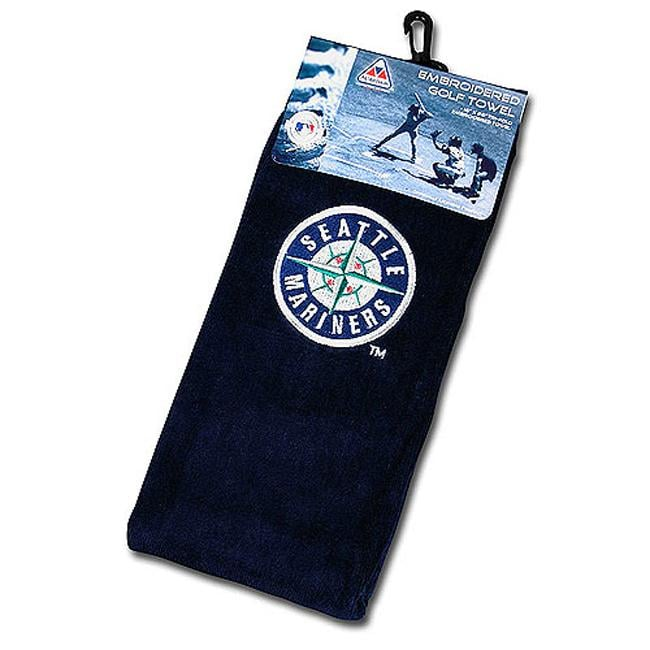Seattle Mariners Embroidered Golf Towel
