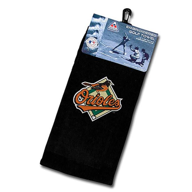 Baltimore Orioles Embroidered Golf Towel