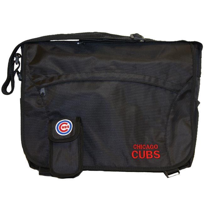 Chicago Cubs Nylon Messenger Bag