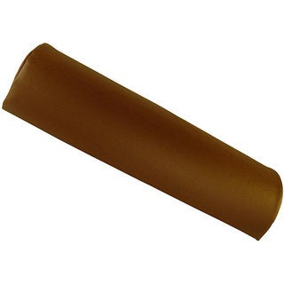 Half Round Massage Table Chocolate Brown Bolster