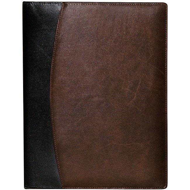 Buxton Leather Writing Padfolio