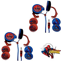 Nemo Digital Spider-Man Wrap-around Headphones (Case of 2)