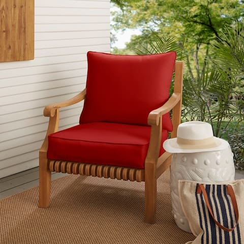 Buy Top Rated Red Outdoor Cushions Pillows Online At Overstock