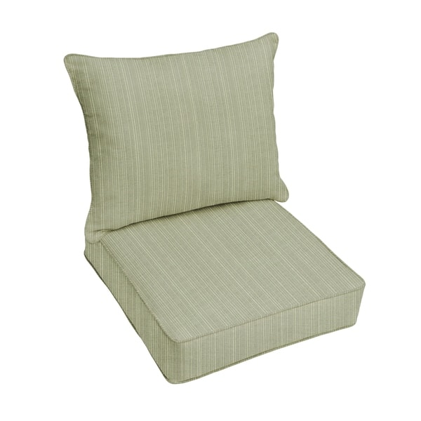 Sunbrella Indoor Outdoor Deep Seating Cushion And