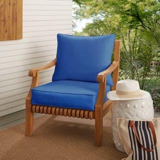 Blue Sunbrella Outdoor Cushions Pillows Online At Our Best Patio Furniture Deals