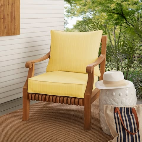Buy Yellow Sunbrella Outdoor Cushions Pillows Online At Overstock