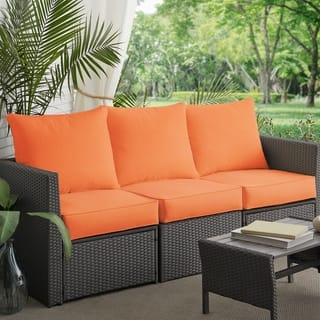 Buy Orange Outdoor Cushions Pillows Online At Overstock Our Best