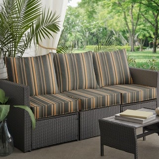 buy grey outdoor cushions pillows online at overstock our best rh overstock com grey patio furniture target grey patio chair cushions
