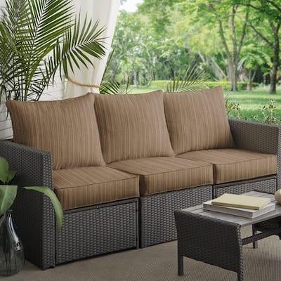 Walnut Sunbrella Outdoor Cushions