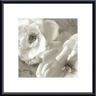Sondra Wampler 'Poppy Study III' Metal Framed Art Print