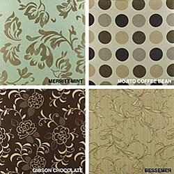 22-inch Outdoor Throw Pillows with Sunbrella Fabric (Set of 2) - Designer - Thumbnail 2