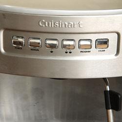 Cuisinart EM-200FR Programmable 15-bar Espresso Maker (Refurbished) - Thumbnail 2