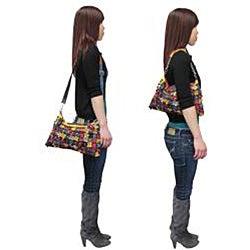 Amerileather Women's 'Hana' Large Clutch Handbag