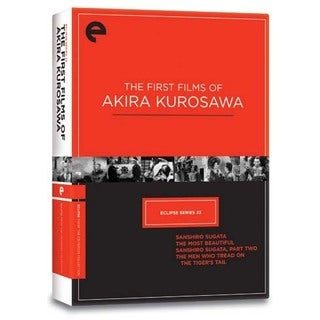Eclipse Series 23: The First Films of Akira Kurosawa (DVD)