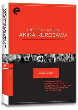 Eclipse Series 23: The First Films of Akira Kurosawa (DVD)