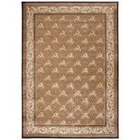 Safavieh Paradise Eden Dark Brown Viscose Rug - 8' x 11'2""