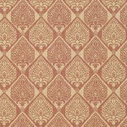 Safavieh Courtyard Damask Rust/ Sand Indoor/ Outdoor Rug (6'7 x 9'6) - Thumbnail 2