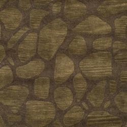 Safavieh Handmade Soho Pebbles Brown New Zealand Wool Rug (7'6 x 9'6) - Thumbnail 2