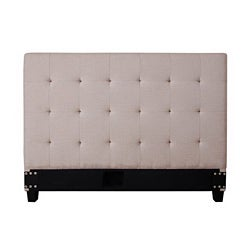 Maison Natural Fabric Queen-size Headboard
