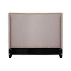 Victoria Natural Fabric Full-size Headboard