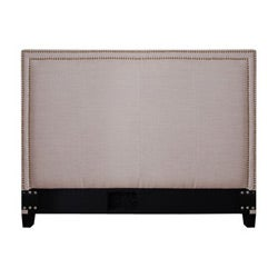 Victoria Natural Fabric Queen-size Headboard