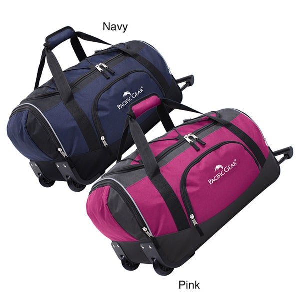 Pacific Gear 21-inch Carry On Wheeled Upright Duffel Bag