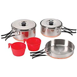 Stansport Two-person Stainless Cook Set