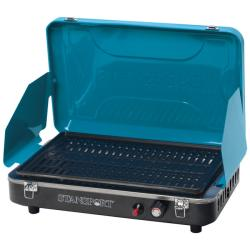 Stansport Blue Propane Grill Stove with Piezo Ignition
