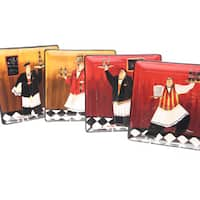 Certified International 'Bistro' 10.5-inch Dinner Plates (Set of 4)