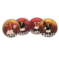 Certified International 'Bistro' 9-inch Soup/ Pasta Bowls (Set of 4)