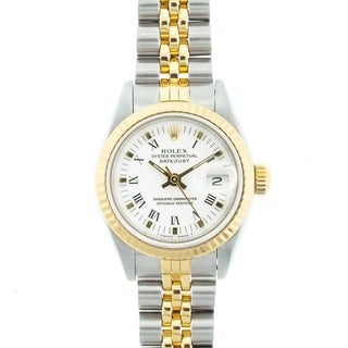 Pre-Owned Rolex Women's 'Datejust' Two-tone Watch