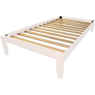 Gracewood Hollow Chevalier Solid Bamboo Wood Twin Platform Bed (More options available)
