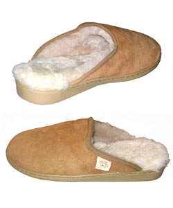 Amerileather Shearling House Slippers (Option: Women's- 10)