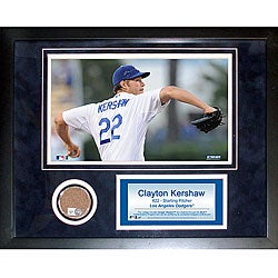 Steiner Sports Clayton Kershaw 11x14 Mini Dirt Collage