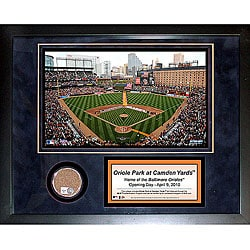 Steiner Sports Oriole Park 11x14 Mini Dirt Collage