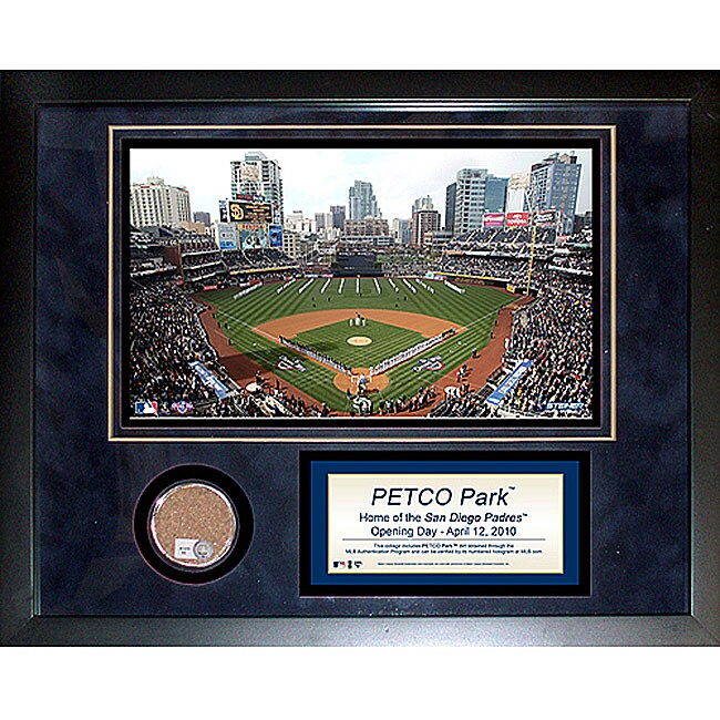 Steiner Sports Petco Field 11x14 Mini Dirt Collage