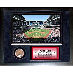 Steiner Sports Chase Field 11x14 Mini Dirt Collage