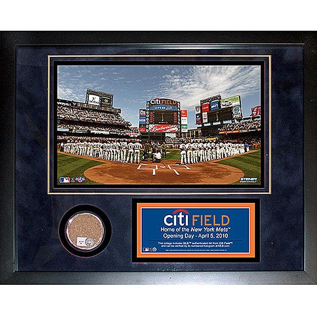 Steiner Sports Citi Field 11x14 Mini Dirt Collage