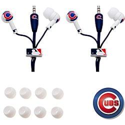 Nemo Digital MLB Chicago Cubs Earbud Headphones (Pack of 2)