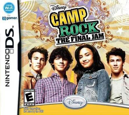 Nintendo DS - Camp Rock: The Final Jam- By Disney Interactive