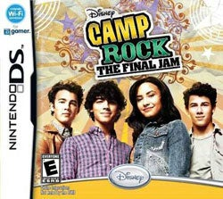 Nintendo DS - Camp Rock: The Final Jam- By Disney Interactive