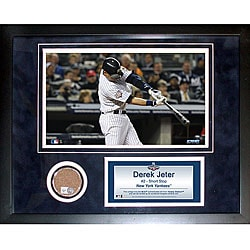 Steiner Sports Derek Jeter 11x14 Mini Dirt Collage