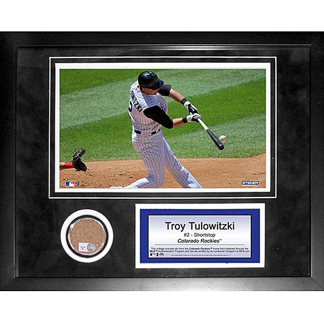 Steiner Sports Troy Tulowitzki 11x14 Mini Dirt Collage